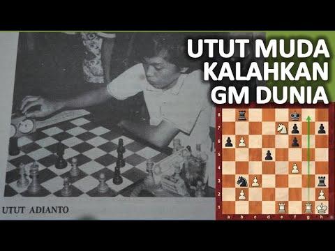 Utut Adianto Vs Lajos Portisch   Utut Remaja Kalahkan Grandmaster Dunia