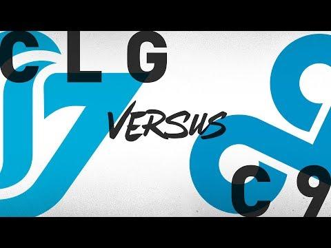 CLG vs. C9 - Week 4 Day 2 | NA LCS Summer Split | Counter Logic Gaming vs.Cloud9 (2018)