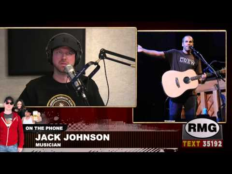 Musician Jack Johnson - full interview