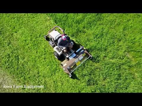 Grasshopper Peruzzo Flail Mower Verticut Verticutter Dethatcher