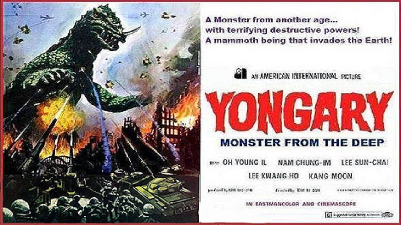 Image result for yongary monster from the deep poster