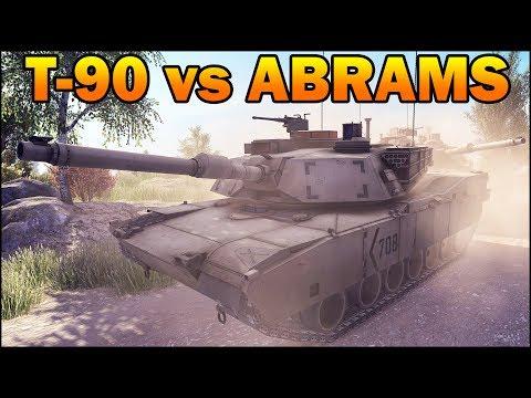 T90 vs ABRAMS - 10 vs 10 - Modern Tanks Battle - Call to Arms - Editor Scenario #10 |