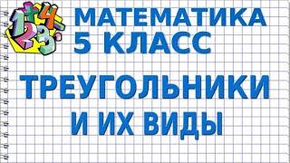 тРЕУГОЛЬНИК. Видеоурок  МАТЕМАТИКА 5 класс