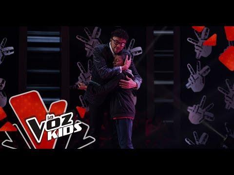 Jeand canta Ya me enteré – Audiciones a Ciegas   La Voz Kids Colombia 2019