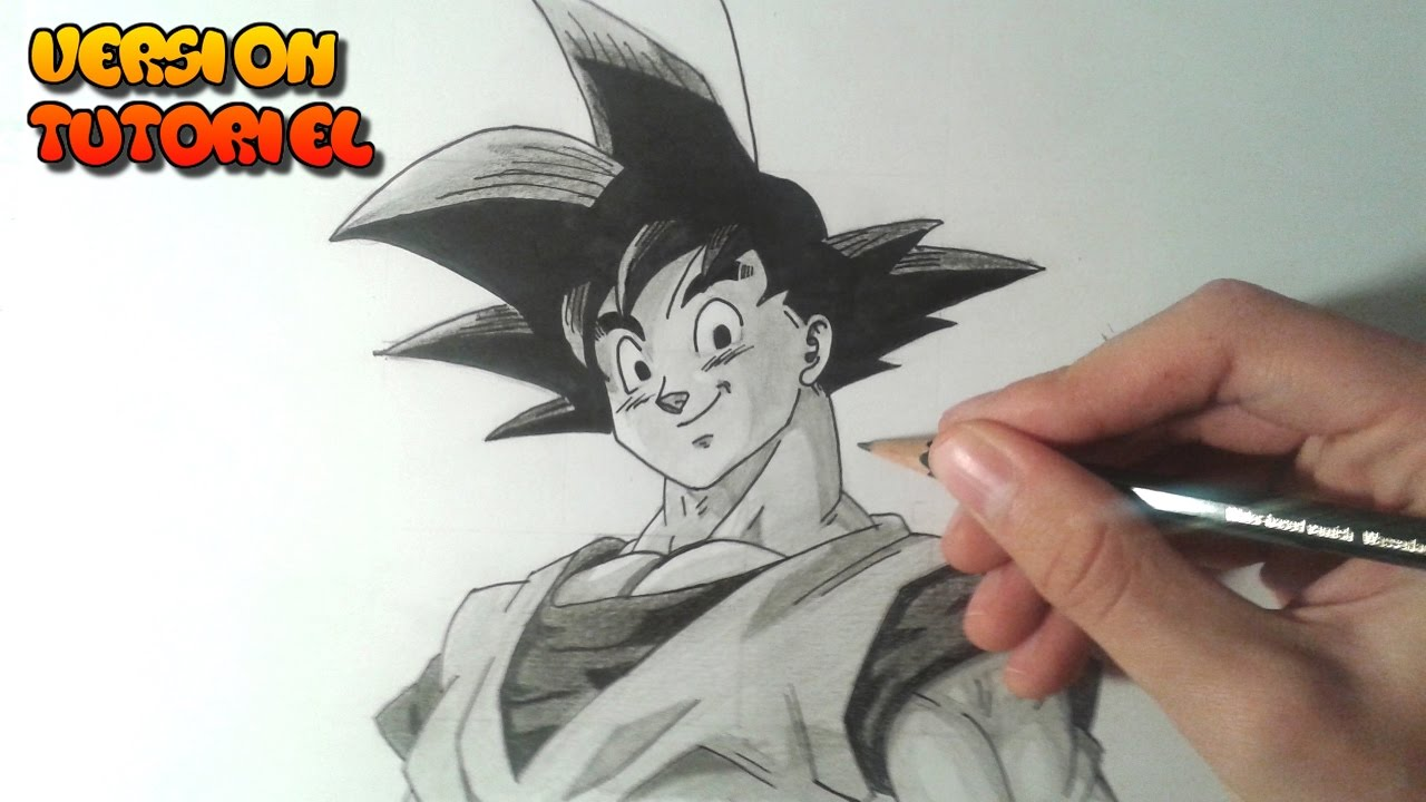 Comment dessiner sangoku tutoriel youtube - Dessin sangoku ...