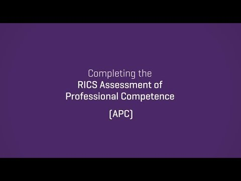 Completing the RICS APC through preliminary review | 2017 update