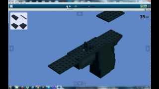 как сделать LEGO пистолет через LDD