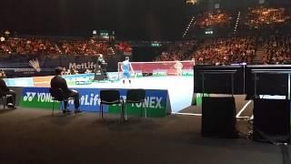lin dan vs chen long all england badminton 2015 sf part 4 20150307 142022