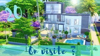 -20 - AMAZONE | ON VISITE ? 🏡 | Les Sims 4