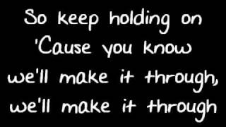 Avril Lavigne - Keep Holding On - Lyrics