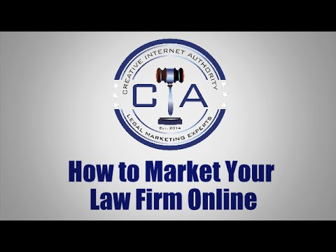 Legal Marketing: How to Market Your Law Firm Online - Free Book Offer