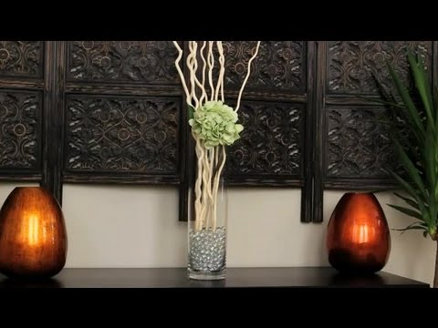How To Decorate With Curly Willow Branches Crystals Decorating