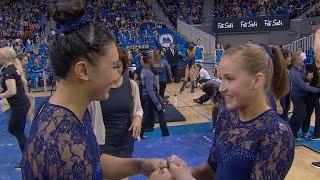 Olympians Madison Kocian and Kyla Ross shine in UCLA gymnastics debuts