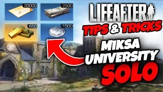 LifeAfter | Miska University EASY SOLO! | Tips & Tricks