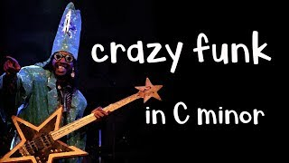 Crazy Funk Guitar Backing Track Jam in Cm Dorian