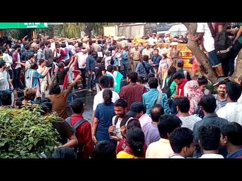 JNU collage    dharna    New video 2018    INA SAROJINI NAGAR NEW DELHI   