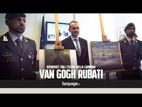 """Van Gogh rubati tra i tesori della camorra: """"Valgono oltre 100 milioni di euro"""""""