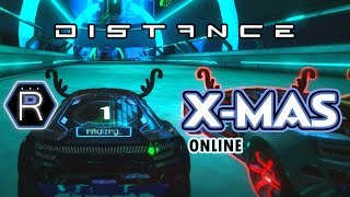 Distance Gameplay  - PC Racing Game / Christmas Online Multiplayer Race Mode 2