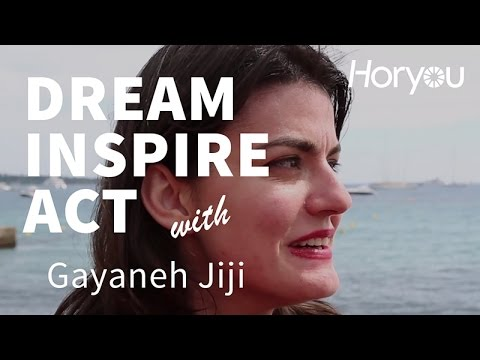 Gayaneh Jiji  @ Cannes 2014 - Dream Inspire Act by Horyou