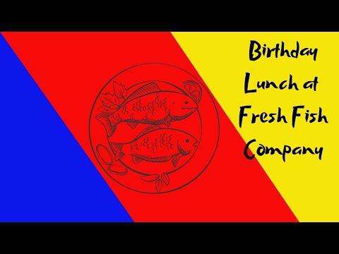 Lunch At Fresh Fish Company