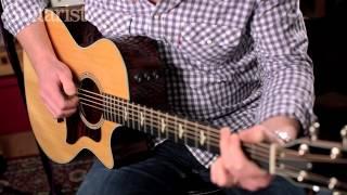 NAMM 2015: Taylor 600 Series 618e & 614ce electro-acoustic guitar demo