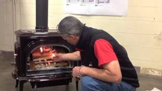 How to light your Jotul wood stove