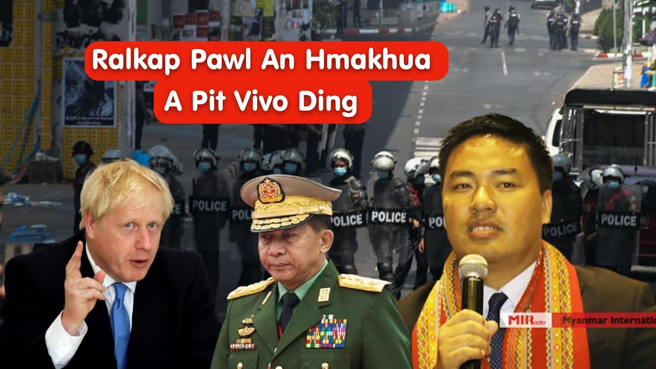 Myanmar Thuthang; Ralkap Lam In Thahrum Hman Vivo An Tum, An Hmakhua A Pit Ve Ding