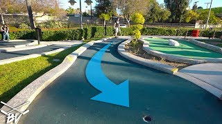 MINI GOLF HOLE IN ONE AND LUCKY PUTTS AT SPEEDZONE MINI GOLF!