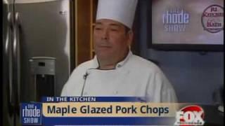 Maple Glazed Pork Chops With Apples