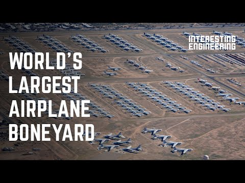 Download The Boneyard: Where airplanes go to retire