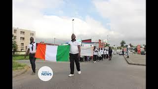 Ivory Coast Ahmadi Muslims in Peace Walk
