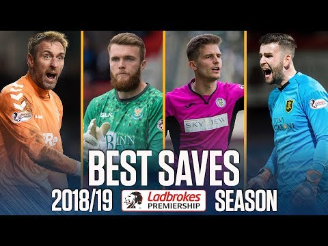 Incredible Stops! | Best Saves of the 2018/19 Premiership Season | Ladbrokes Premiership