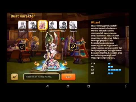 Line Dragonica Android Gameplay