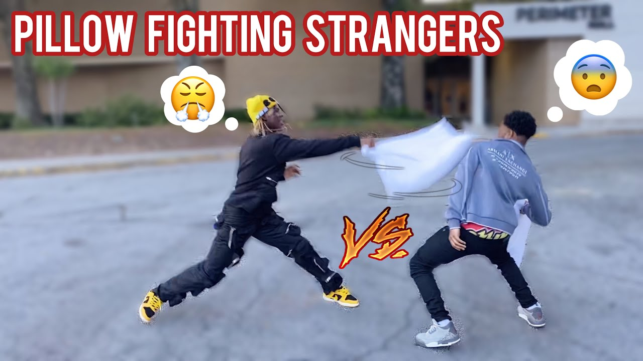 Download Pillow Fighting Strangers in Public 🤕 Atlanta Mall Edition! (pt. 7)