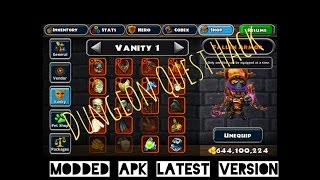Dungeon Quest Modded Apk (Free Shopping)