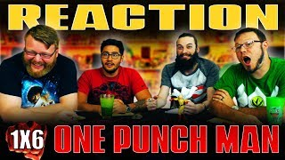 """One Punch Man 1x6 REACTION!! """"The Terrifying City"""""""