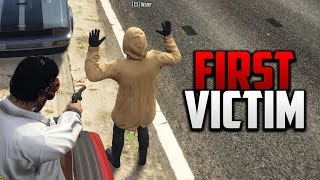 SNITCH SERIAL KILLER #2 - FIRST VICTIM | GTA 5 ROLEPLAY