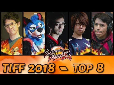 DBFZ: TIFF 2018 Kazunoko, SonicFox, GO1, Kaimart, HookGangGod (Top 8)