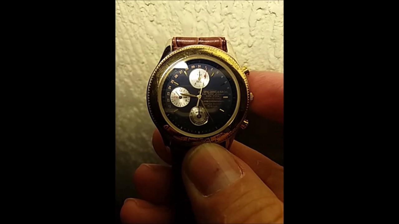 be85d6b8187 RARIDADE  Relógio A.G. Spalding   Bros (à venda no Mercado Livre ...