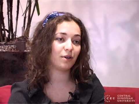 CEU political science student Silvia talks about her research -- and her future