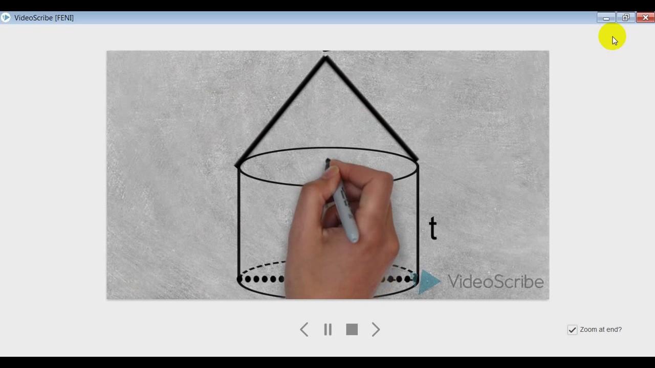 cara menghitung volume tabung kerucut YouTube