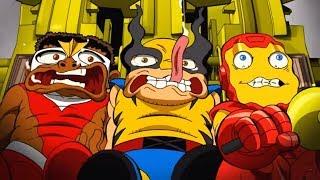 Marvel | Отряд супергероев - Сборник 1 - Все серии подряд (1-4)