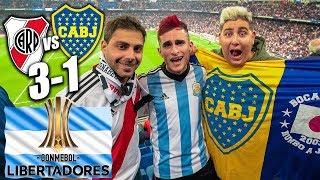 REACCIONO a la DERROTA River Plate 3-1 Boca Juniors FINAL LIBERTADORES ARGENTINA | Partido Bernabéu
