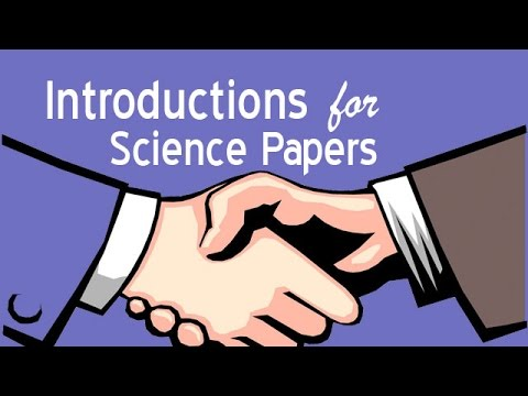 Introduction Paragraphs for Science Papers