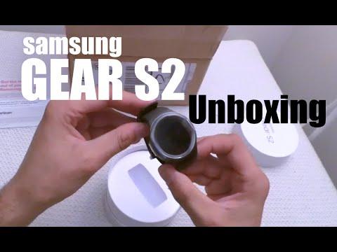 Samsung Gear S2 Smartwatch Unboxing on Verizon