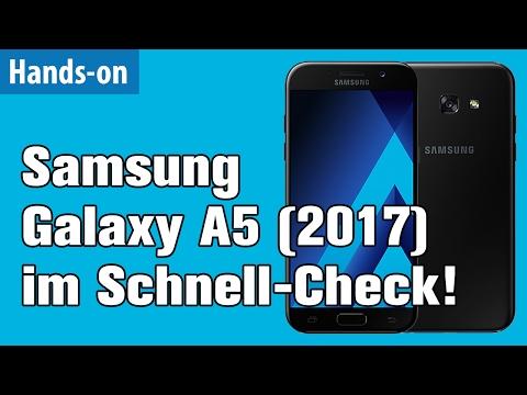 Samsung Galaxy A5 (2017) im Hands-on von Mobiwatch   deutsch / german