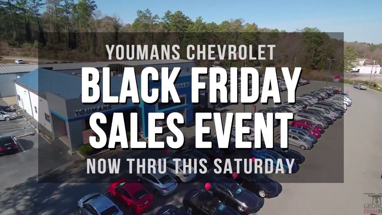 Black Friday Sales Event At Youmans Chevrolet In Macon Georgia