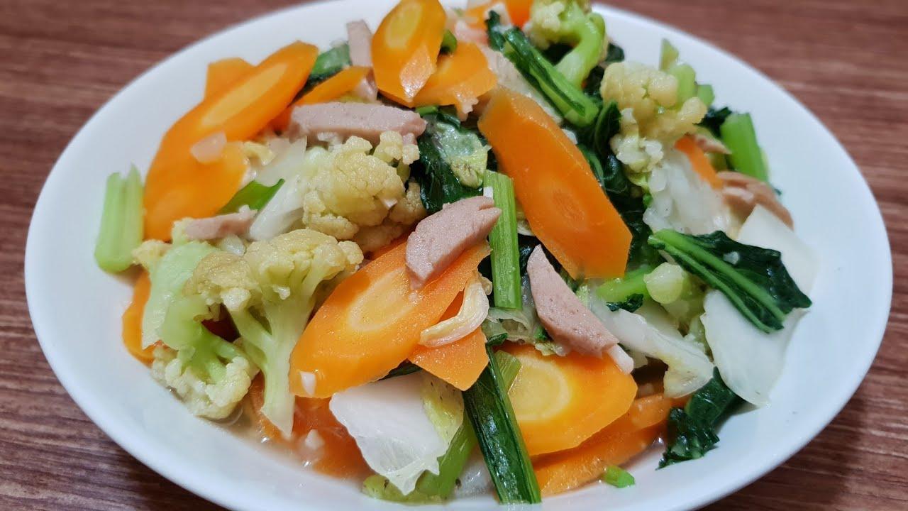 Resep Sayur Capcay Mudah Dan Enak