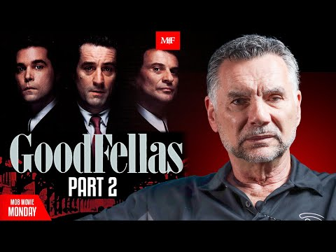 Mob Movie Monday- Goodfellas Movie Review Part 2 with Michael Franzese