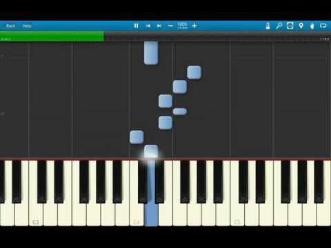 Piano Sword Art Online - Crossing Field - Easy Tutorial